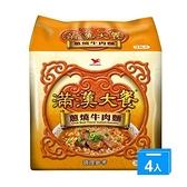 統一滿漢大餐蔥燒牛肉麵x12包(箱)【愛買】