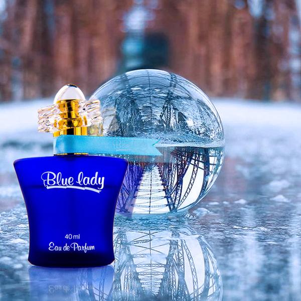 Rasasi拉莎斯 Blue Lady藍精靈 茉莉與橙花 經典氣質女香40ml贈香體止汗噴霧