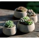 〔新品超熱銷〕CARMO水泥灰色矮錐形花...