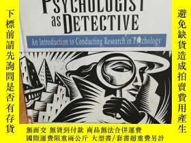 二手書博民逛書店Psychologist罕見as Detective, The: