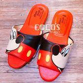 正版授權 迪士尼 米奇米妮 米奇 室內拖鞋 防滑拖鞋 25CM 米奇A款 COCOS GF098