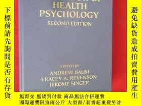 二手書博民逛書店Handbook罕見of Health Psychology: