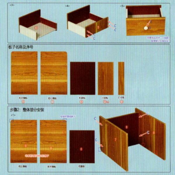 【AN110】雙抽床頭櫃(免運) 床邊櫃 二抽床頭櫃 收納櫃 置物櫃 矮櫃 邊櫃 EZGO商城