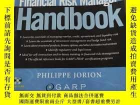 二手書博民逛書店Financial罕見Risk Manager handbook:財務風險經理手冊(外文)Y212829