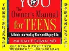 二手書博民逛書店You:罕見The Owner s Manual For TeensY255562 Michael F. Ro