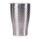 金時代書香咖啡 Tiamo 真空錘紋陶瓷杯 360ml 不銹鋼 HE5165SL