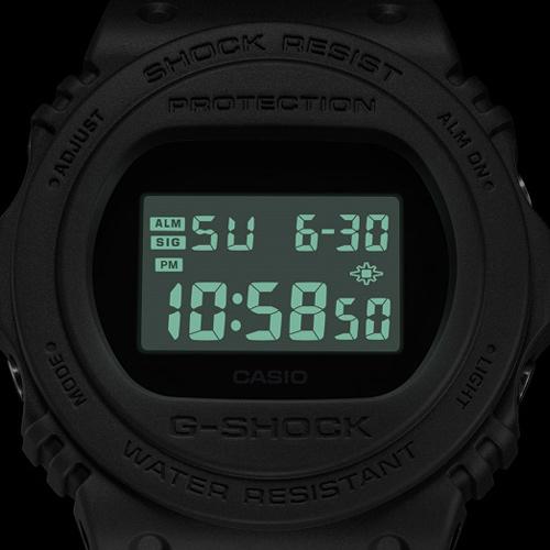 CASIO卡西歐G-SHOCK復刻經典運動錶 DW-5750E-1B