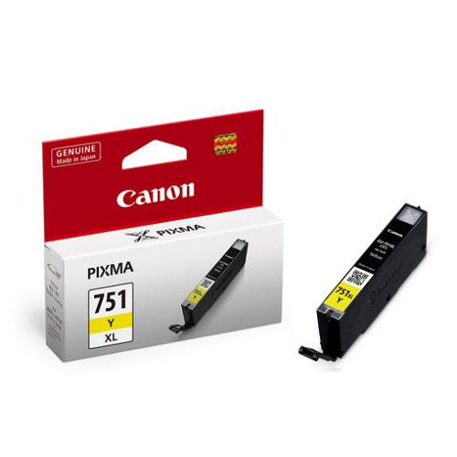 CANON CLI-751XLY 原廠黃色高容量XL墨水匣 CLI-751XL Y 適用 iP7270/iX6770