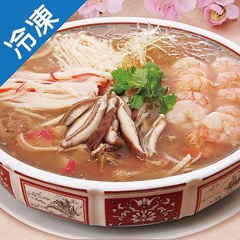 【1月22日起陸續出貨】饗城極品海鮮羹1800g+-5%/碗(年菜)【愛買冷凍】