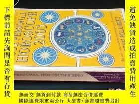二手書博民逛書店YOUR罕見PERSONAL HOROSCOPE 2003591