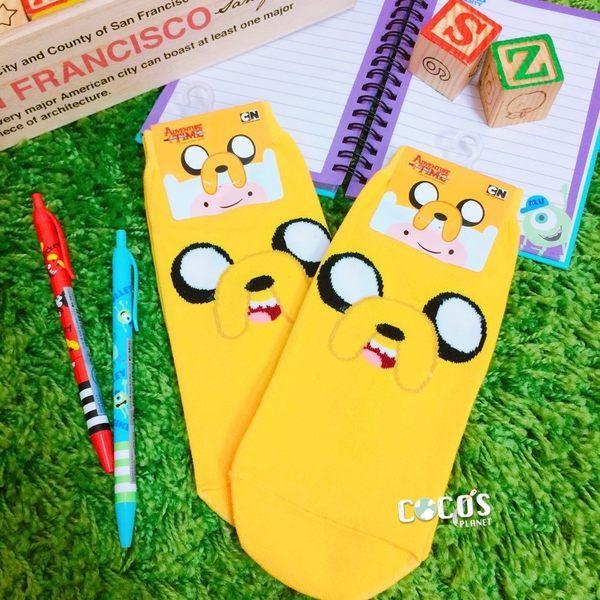 正版授權 探險活寶 老皮 造型襪 短襪 襪子 韓國襪 COCOS JI039