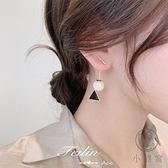 銀耳環氣質高級感珍珠耳飾女純銀耳釘【小酒窝服饰】