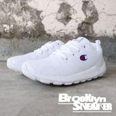 Champion 全白 網布 鞋面條紋 休閒鞋 情侶鞋 男女 (布魯克林) 911210200 男 911220200 女