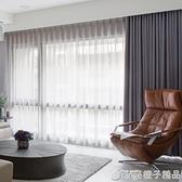 加厚99.9%全遮光隔音隔熱布料簡約現代客廳陽台臥室成品窗簾『橙子精品』