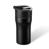 丹麥PO:便攜法壓保溫咖啡杯-黑354ml(12oz)