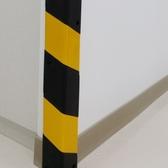 柱角防撞條 PU材質 黑黃色