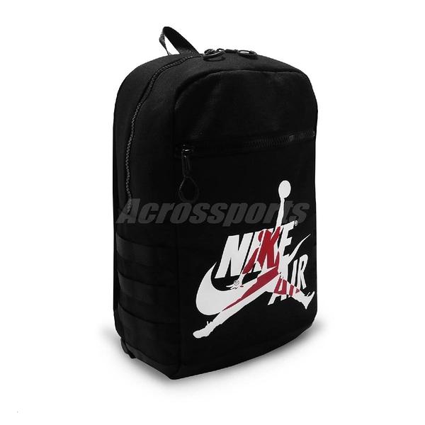 Nike 後背包 Jordan Jumpman Nike Air 黑 白 紅 飛人 背包 籃球【ACS】 9A0257-023