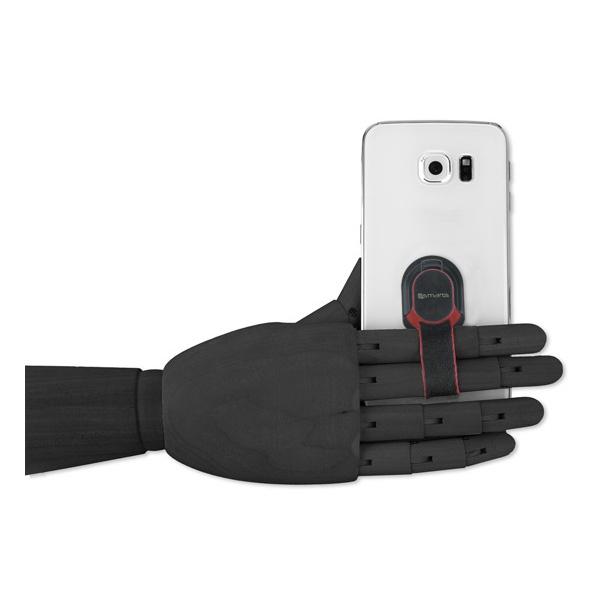 【94號鋪】德國4smarts手機時尚支架指環帶(聖誕老人/自由/深藍/紅色/黑色)