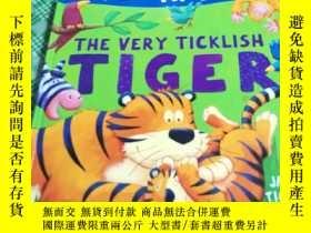 二手書博民逛書店The罕見Very Ticklish Tiger (精裝本 18開 )Y246081 Tickle, Jack