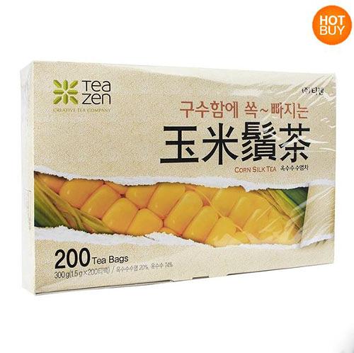 【 現貨 】Teazen 玉米鬚茶 1.5公克 X 200包