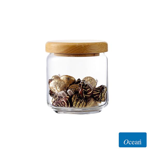 Ocean 木蓋儲物罐500cc