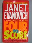 【書寶二手書T4/原文小說_FQ7】Four to Score_Janet Evanovich
