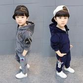 男童冬裝套裝4寶寶兒童秋裝二3三四五六歲小男孩衣服金絲絨兩件套  Cocoa