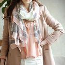 韓版新款 城市印花 披肩圍巾 M0025 ◆ 韓妮小熊