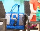 wei-ni 沙灘游泳WeekEight乾濕分離包 乾濕分離收納袋包 大容量防水運動包 男女泳衣袋