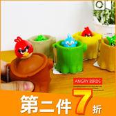 憤怒鳥 Angry Birds 正版樹幹造型軟質捏捏樂 鑰匙圈吊飾 玩具公仔 B17050
