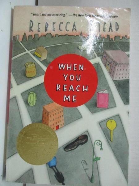 【書寶二手書T1/原文小說_BU7】When You Reach Me_Stead, Rebecca