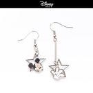 【僾瑪精品】「迪士尼系列」米奇星星 垂墜耳環-銀 #22004988