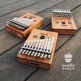 拇指琴 果實拇指琴20音雙層鍵seeds卡林巴手指琴kalimba抖音琴入門樂器  麻吉鋪