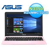 ASUS 華碩 E203NA-0051EN3350 11.6吋筆電 粉