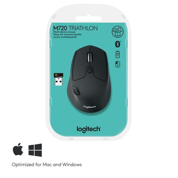 羅技 M720 Triathlon 多工無線滑鼠 強強滾 高續航力 Unifying apple mac asus