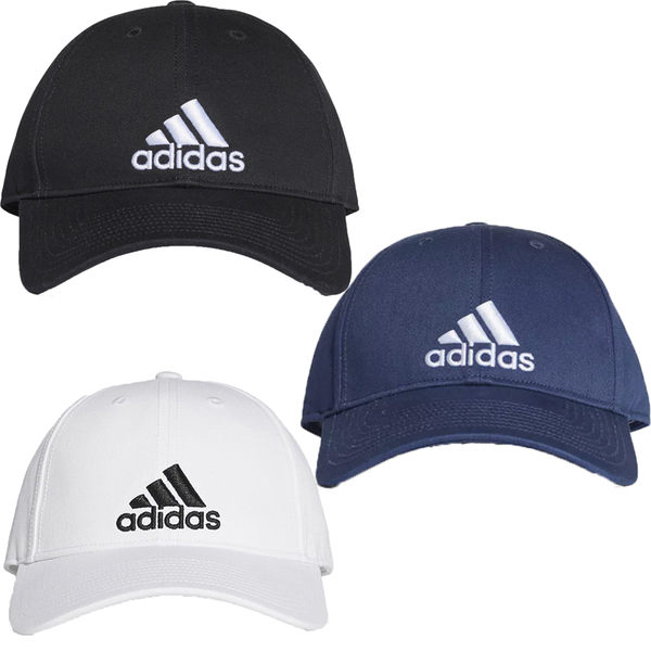 現貨在庫 Adidas Classic Six-Panel Cap 帽子 老帽 休閒 黑 / 白 / 藍 【運動世界】