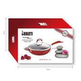 【等一個人咖啡】BIALETTI 唐納提羅美石炒鍋-32cm(摩登紅)加蓋禮盒