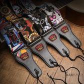 吉他背帶 RUIZ魯伊斯吉他背帶民謠古典電吉他貝斯吉它背帶加寬加厚吉他肩帶