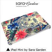 3D精細 客製 水彩 羽毛 白虎 iPad Mini 1 2 3 4 保護殼 保護套 磨砂殼 SG 品牌手作【G0101346】