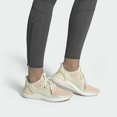ISNEAKERS ADIDAS ULTRABOOST 19 粉橙色 透氣 編織 馬牌底 襪套 慢跑鞋 女鞋 F34073