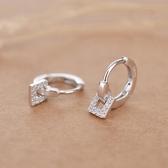 【新飾界】耳環:韓國氣質簡約個性百搭女耳扣
