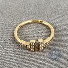 BRAND楓月 TIFFANY&CO. 蒂芬妮 K18 T WIRE鑽戒 2.2G 戒指 飾品 配件 配飾 鑽石