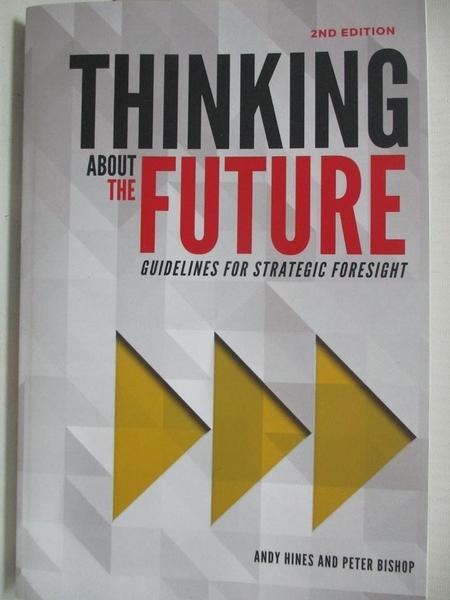 【書寶二手書T1/財經企管_EGD】Thinking about the future : guidelines for strategic foresight