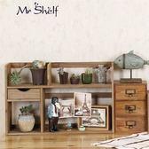 桌上實木小書架 學生寢室桌面置物架 簡易收納辦公室小型書架WY