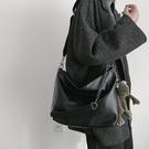 網紅鍊條包包女新款潮斜背百搭學生側背斜背大容量水桶包 智慧 618狂歡