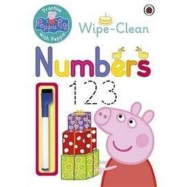 【粉紅豬小妹.擦寫練習書】WIPE-CLEAN NUMBERS #附筆