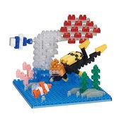 《 Nano Block 迷你積木 》NBC-276 水肺潛水╭★ JOYBUS玩具百貨