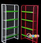 超市貨架 食品置物架便利店面包玩具展示架超市零食貨架文具貨架飲料架T 3色