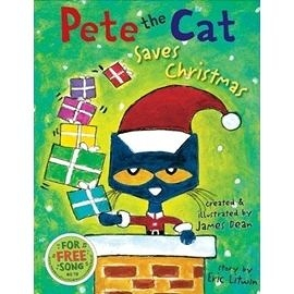 【麥克書店】PETE THE CAT: SAVES CHRISTMAS @精裝本