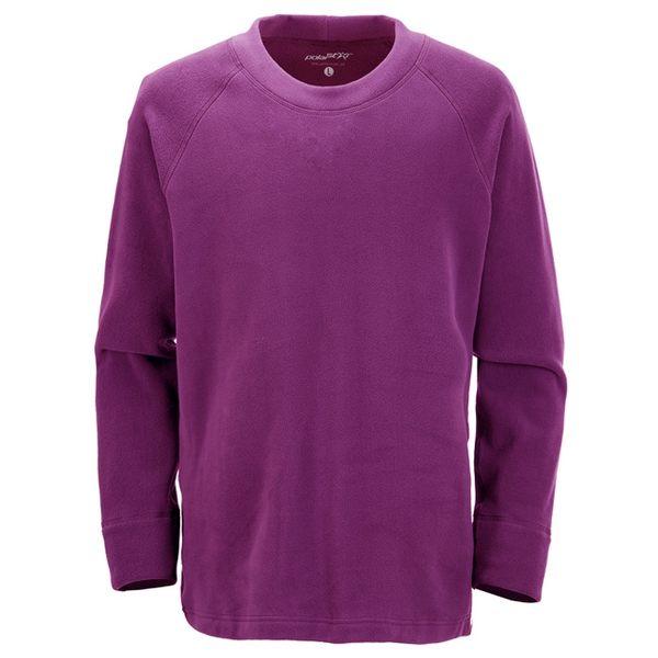 PolarStar 台灣製造 中性圓領刷毛保暖衣『紅紫』MIT│休閒│露營│機能衣│刷毛衣│抗靜電│P16207